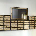 cutii postale si aviziere bloc