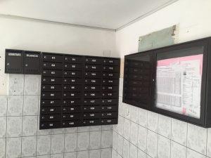 cutii postale pentru scara de bloc culoarea negru